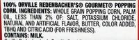 ORVILLE REDENBACHERS Light Butter Popcorn, 8.07 OZ - Ingrédients - en