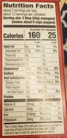 Orville redenbacher light butter popcorn - Informations nutritionnelles - en