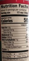 Pasta sauce traditional - Nutrition facts