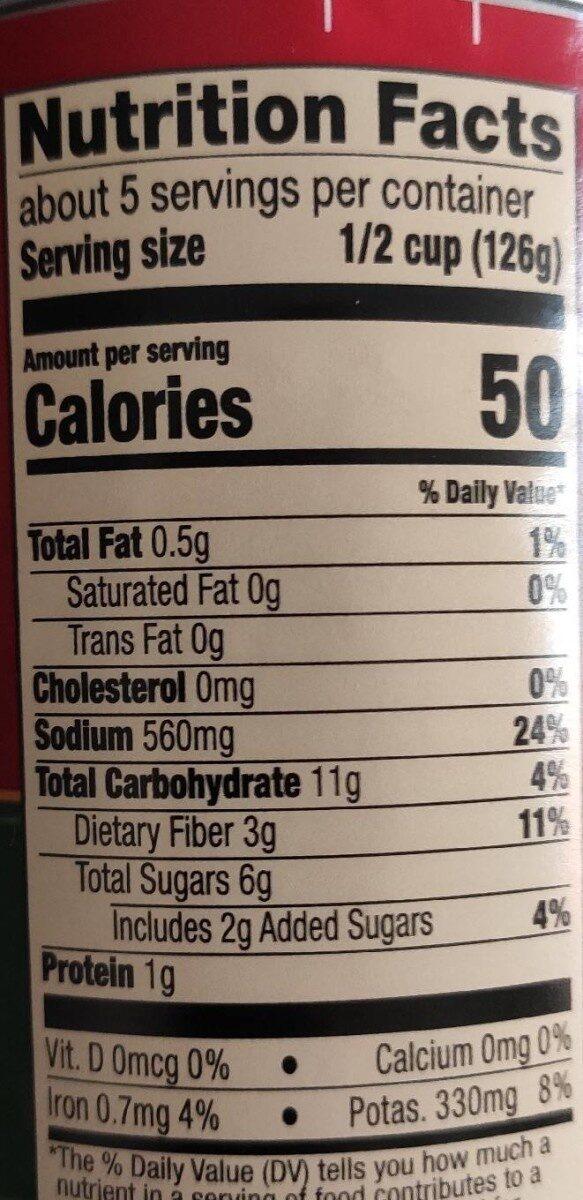 HUNTS Traditional Spaghetti Sauce, 24 OZ - Nutrition facts - en