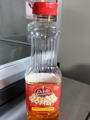 ORVILLE REDENBACHERS Popcorn Oil - Produit - en
