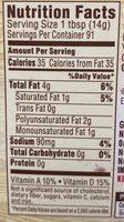 Country crock, light, 28% vegetable oil spread - Nutrition facts - en