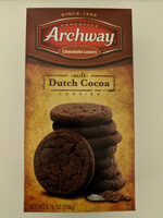 Archway, soft cookies, dutch cocoa, dutch cocoa - Product - en