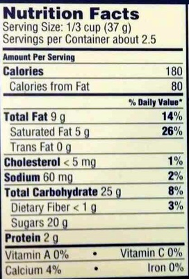 Bunches of crunchy milk chocolate - Nutrition facts - en