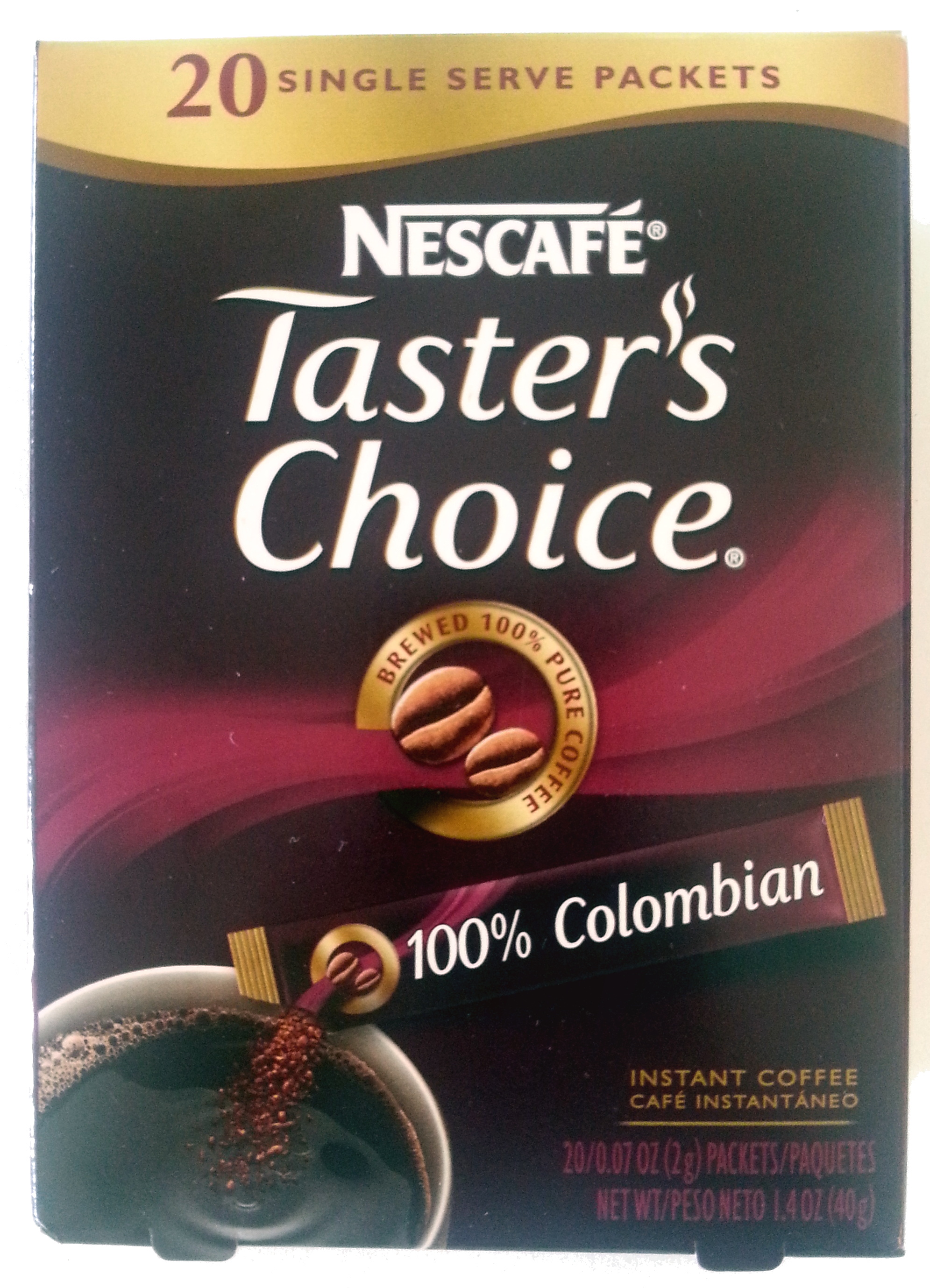 Taster's Choice 100% Colombian - Product