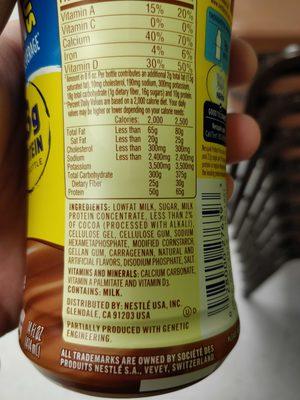 Protein Plus - Ingredients