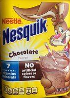 Nestle Nesquik Powder Chocolate - Información nutricional
