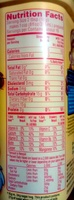 Drink mix - Nutrition facts