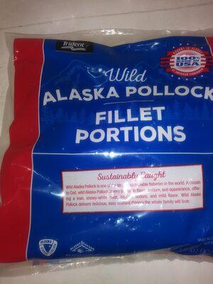 Wild Alaska Pollock Fillet Portions - Prodotto - en