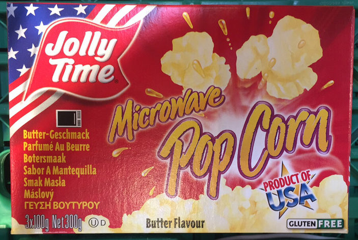 Jolly time, popcorn, butter - Product - en