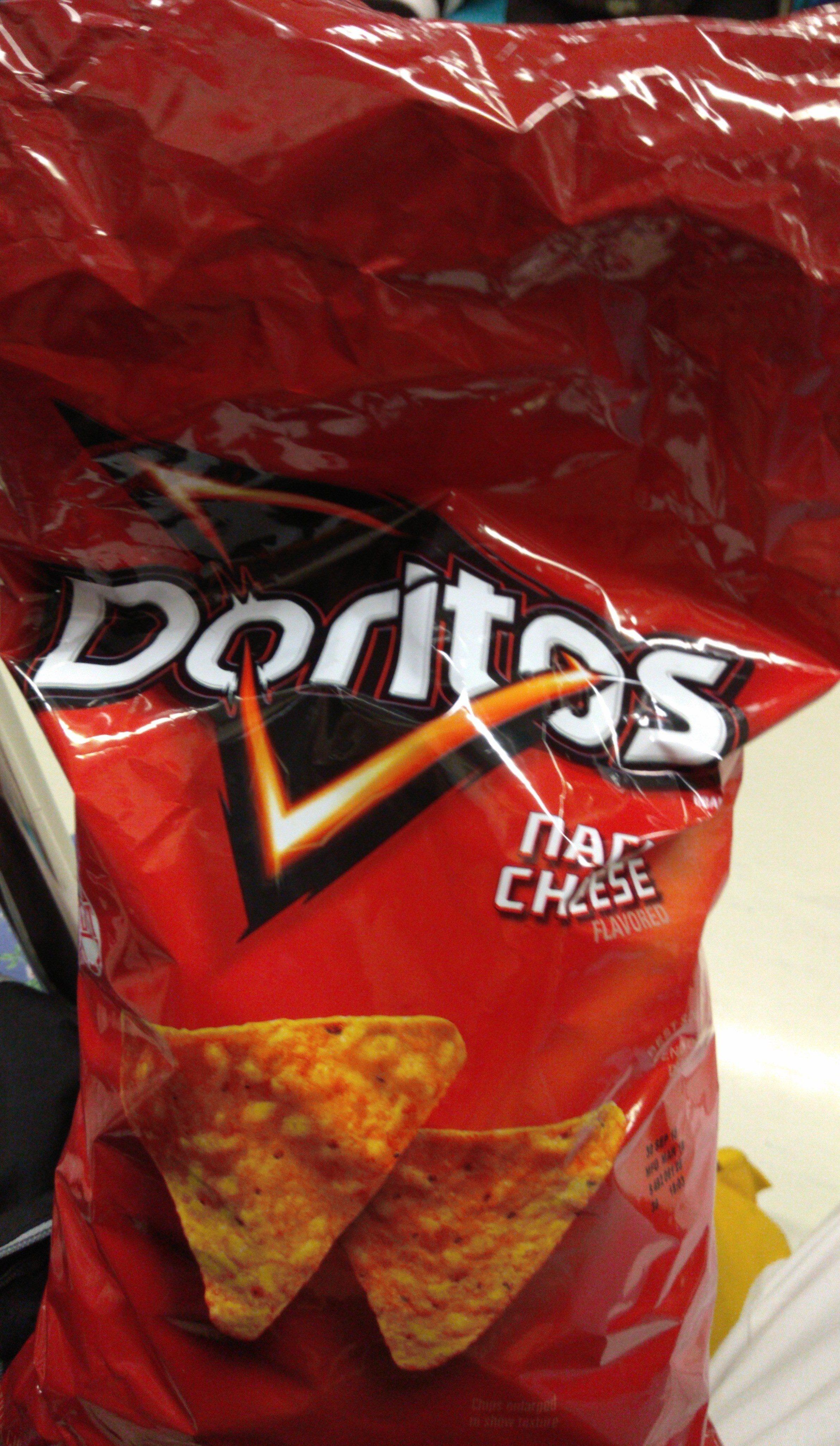 Doritos Flavored Tortilla Chips Nacho Cheese - Produit