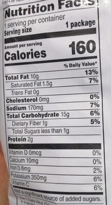 Classic - Nutrition facts - en