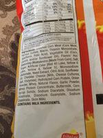 Cheetos puffs - Flamin' Hot - Ingrediënten