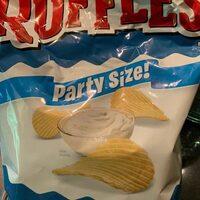 Ruffles Original Party Size Potato Chips 13.5 Ounce Plastic Bag - Product - en
