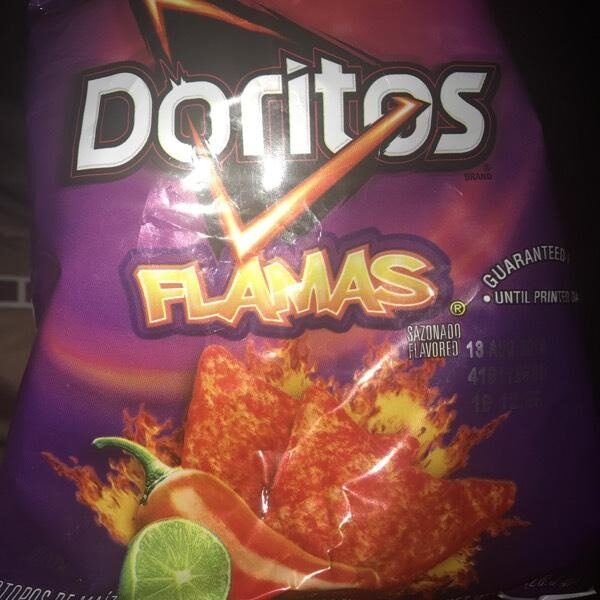 Doritos Flamas Tortilla Chips 1.0 Ounce Plastic Bag - Produit - en