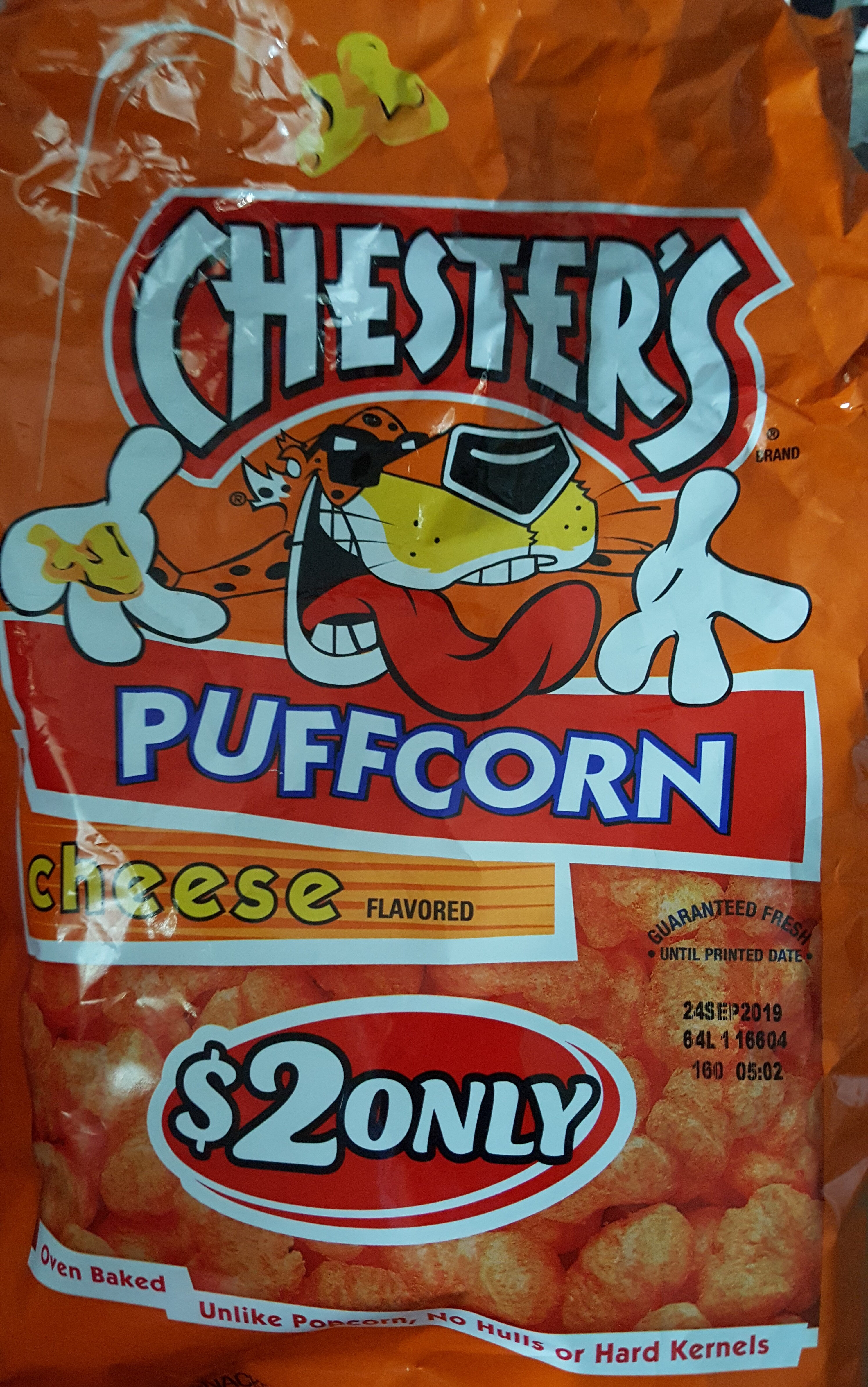 Chesters Puffcorn Cheese - Product - en