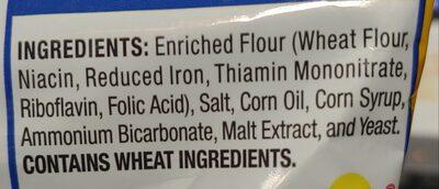 rold gold pretzels - Ingrediënten