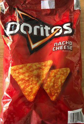 Doritos Tortilla Chips Flavored, Nacho Cheese - Product - fr