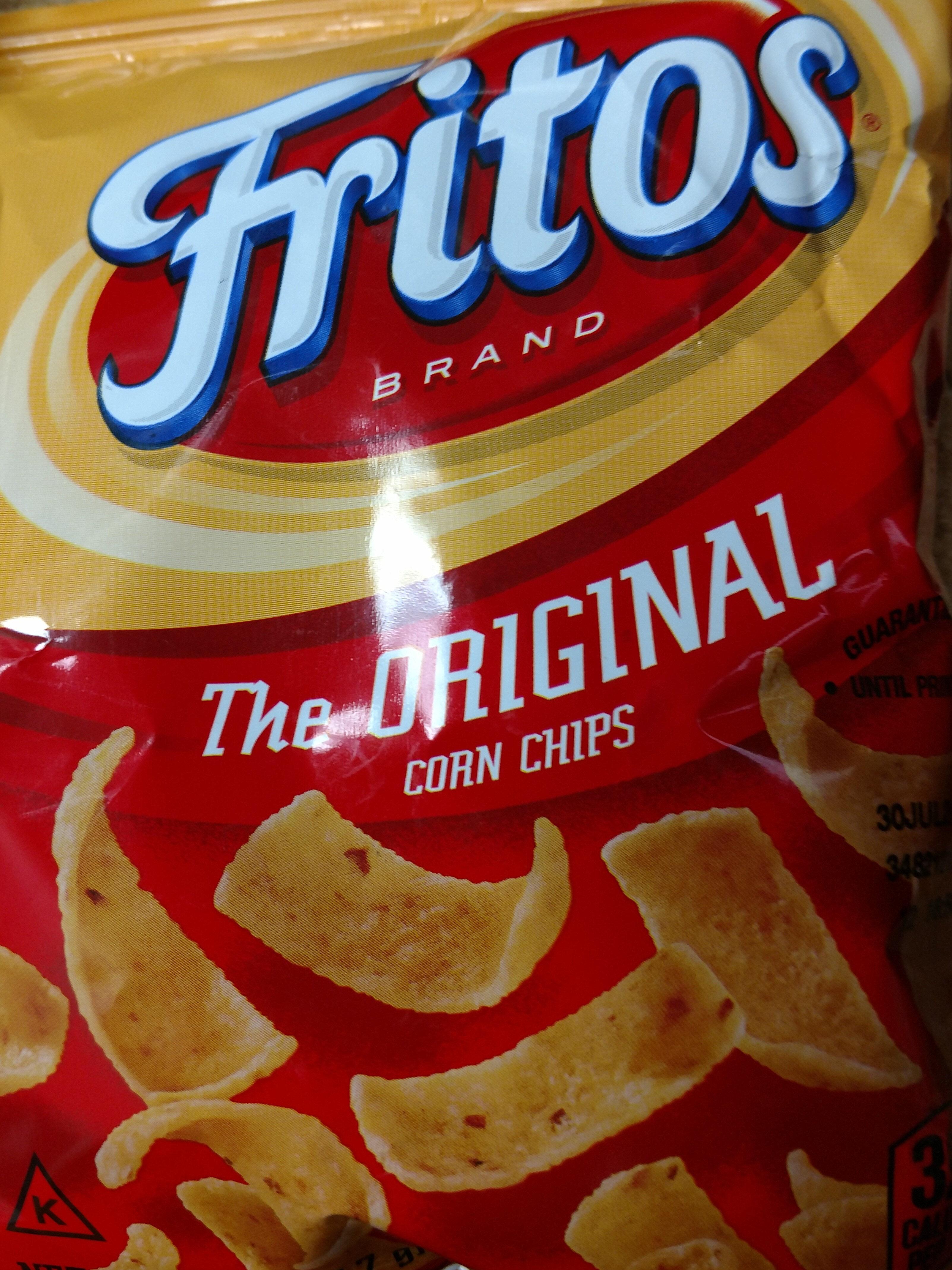Fritos Original Corn Chips 2.0 Ounce Plastic Bag - Product - en