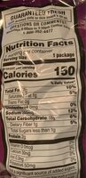 Doritos Spicy Sweet Chili Tortilla Chips 1.0 Ounce Plastic Bag - Nutrition facts - en