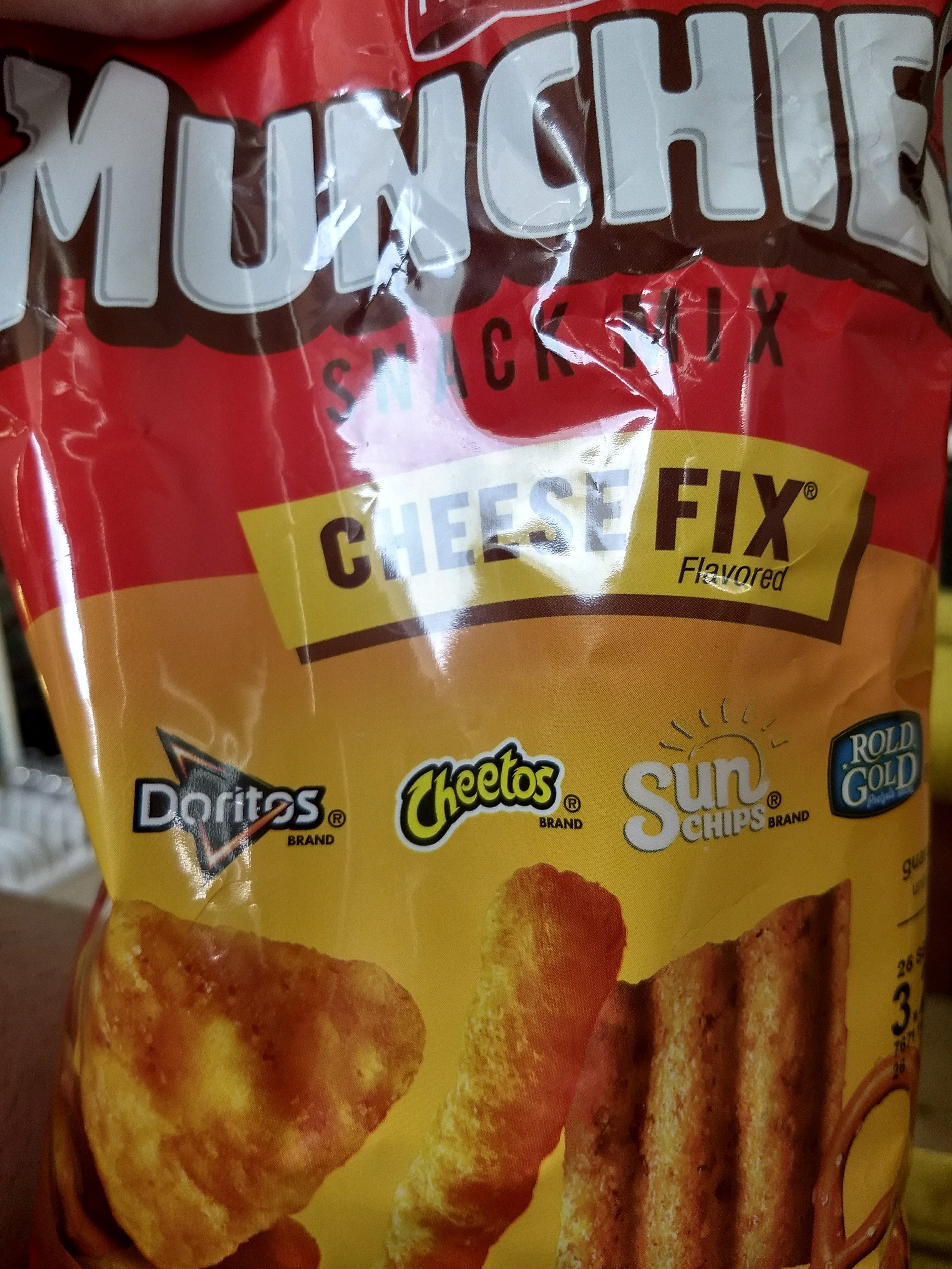 Munchies Cheese Fix Snack Mix 8 Ounce Plastic Bag - Product - en