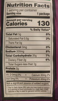 Duritos spicy sweet chili - Nutrition facts - en
