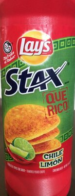 Lays Stax Chile Limon - Product - en