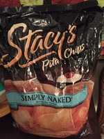 Stacy's Simply Naked Nothing But Sea Salt Pita Chips - Informació nutricional