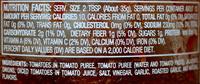Roasted garlic chunky salsa (medium) - Ingredients