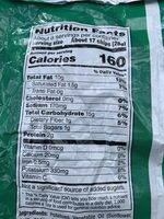 Lay's Sour Cream and Onion Chips - Informations nutritionnelles - en