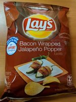 Bacon Wrapped Jalapeño Popper Flavored Potato Chips - Product - en