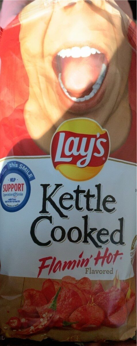 Kettle Cooked Flamin' Hot Flavored - Product - en