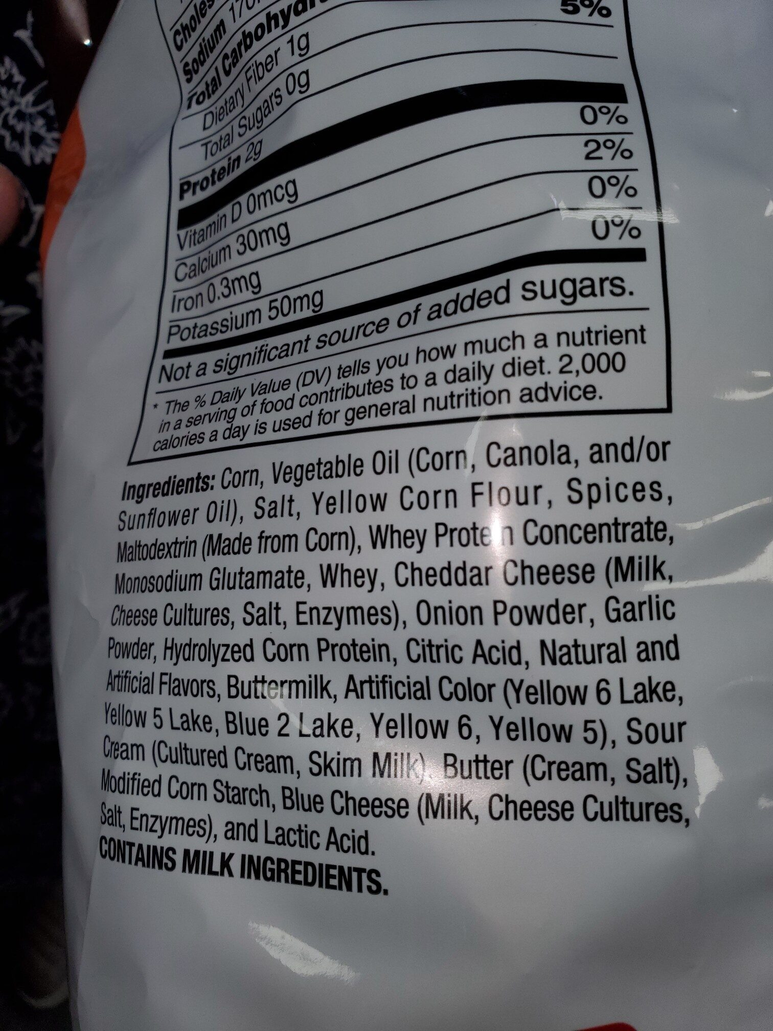 doritos taco - Ingredients - en