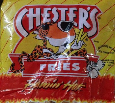 Chester's fries Flamin'hot - Product