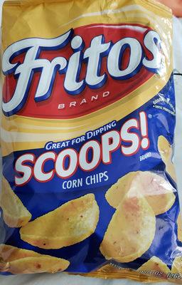 Scoops! corn chips - Product - en