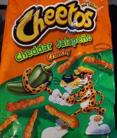 Cheetos Cheddar Jalapeno Crunchy - Product - en