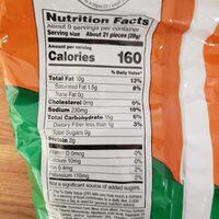 Cheetos Cheddar Jalapeno Crunchy - Nutrition facts - en