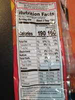 Extra long sunflower seeds - Nutrition facts