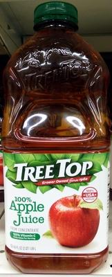 Tree top, 100% apple juice - Product - en