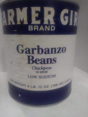Garbanzo Beans - Prodotto - en
