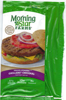 Original veggie burgers, original - Product - en