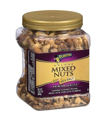 Planters Deluxe Mixed Nuts with sea salt - Product