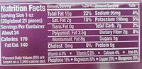 Deluxe mixed nuts, sea salt - Nutrition facts - en