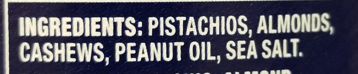 Deluxe Pistachio Mix - Ingredients