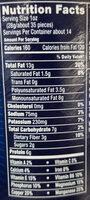 Deluxe Pistachio Mix - Nutrition facts