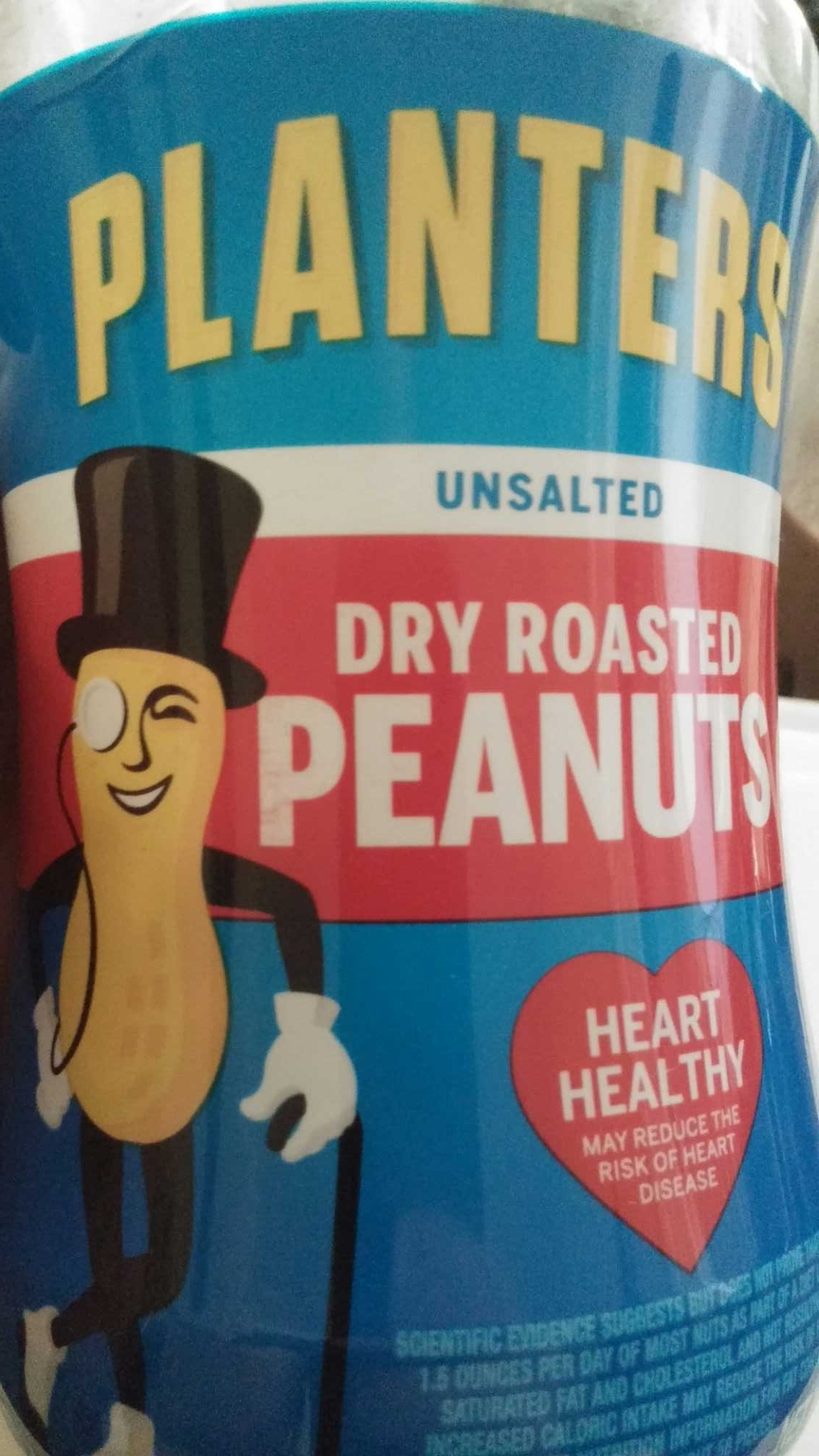 Unsalted dry roasted peanuts, unsalted - Product - en