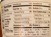 Planters NUT-rition Wholesome Nut Mix - Nutrition facts
