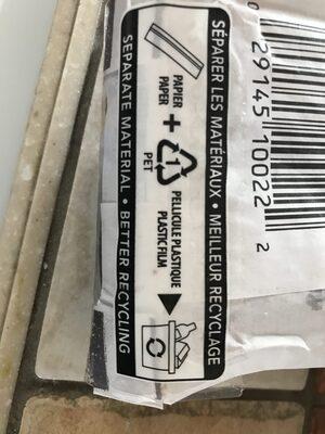 Demi baguette figues dattes mélasse - Instruction de recyclage et/ou informations d'emballage - fr