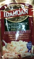 Idahoan roasted garlic and parmesan mashed potatoes - Product