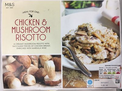 Chicken & Mushroom Risotto - Product